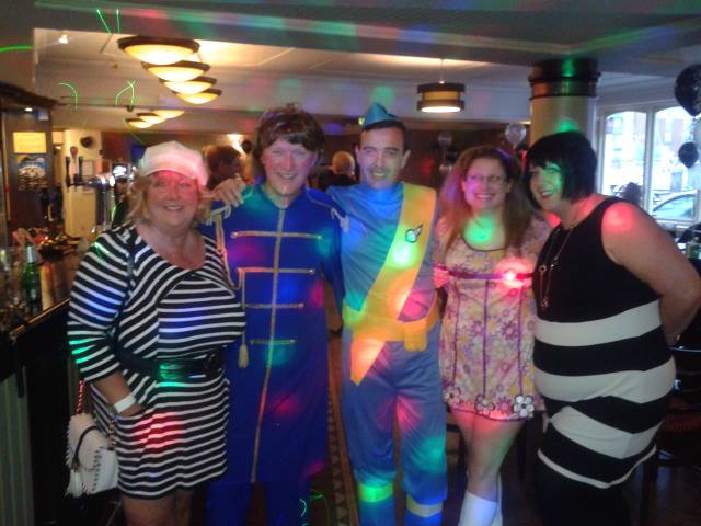 60s theme disco hull DJ