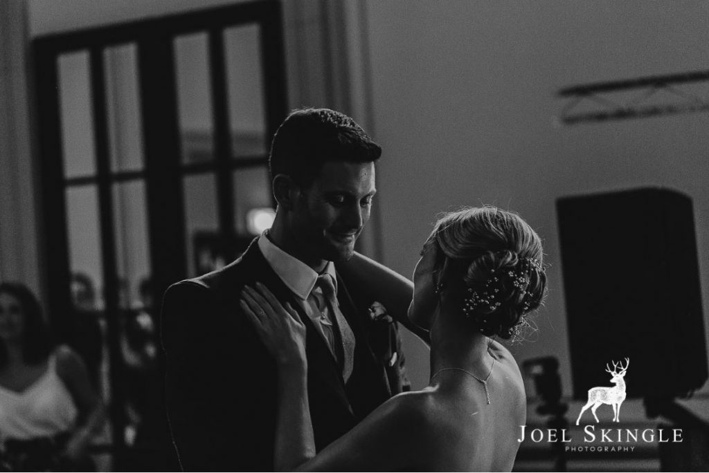 first dance at Rise Hall DJ Yorkshire Hull