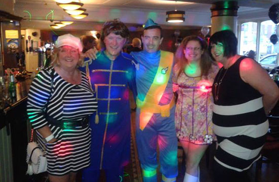 60's themed disco DJ Hull East Yorkshire
