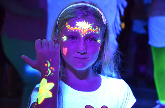 uv children's discos Hull glow parties east yorkshire