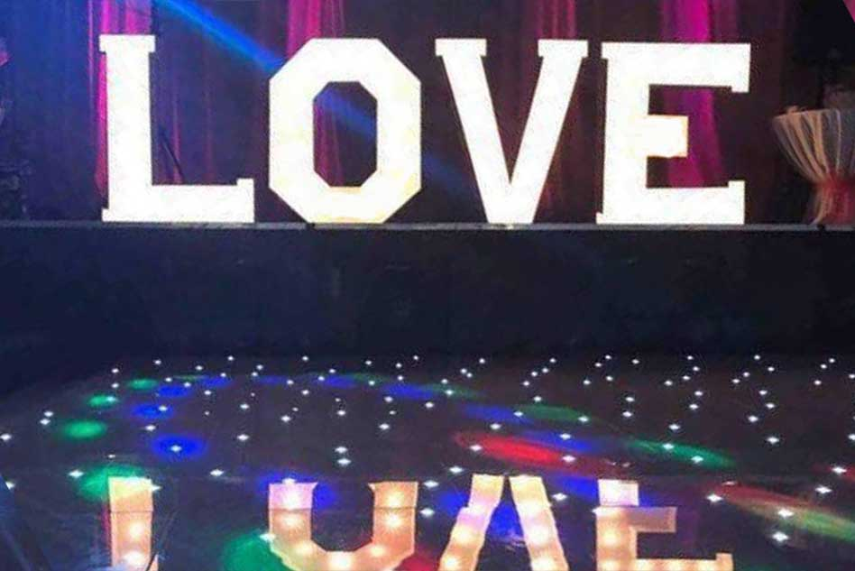 Love letter and DJ hire Hull East Yorkshire